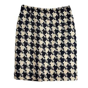 Antonio Melani Houndstooth Pencil Skirt